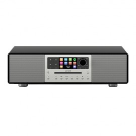 Sonoro Meisterstuck Stereo with Bluetooth CD/USB/FM/DAB+ - Black