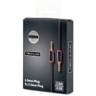Techlink EPP Series 3.5mm Plug to 3.5mm Plug - 1.5m (1.5m - 3m lengths available)