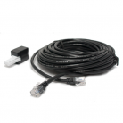 AV:Link 113.536UK RJ11 Plug to Plug Modem Leads - 10.0m