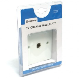 Mercury 122.312UK TV Coaxial Wallplate