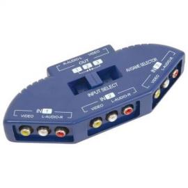AV:Link 128.553UK 3-way Audio/Video Input Selector