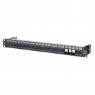 "METZ CONNECT 19"" 1RU Module Frame for 24 Individual ""E-DAT"" Modules"