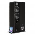 Elipson Prestige Facet 14F BT Bluetooth Floor Standing Speaker - Black