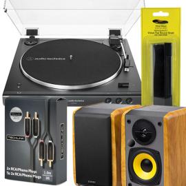 Audio-Technica LP60XBT BUNDLE with Edifier R1010BT