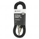 Qtx Standard Guitar 6.3mm Mono Jack Lead - 3m (3m - 6m lengths available)