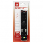 One-For-All URC1921 Sharp TV Replacement Remote Control