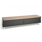EOL Techlink Panorama 160 DUAL Sided Top (Light Oak or Grey Oak) in One Stand!