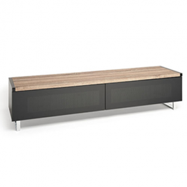 NEW Techlink Panorama 160 DUAL Sided Top (Light Oak or Grey Oak) in One Stand!