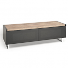 EOL Techlink Panorama 120 DUAL Sided Top (Light Oak or Grey Oak) in One Stand!