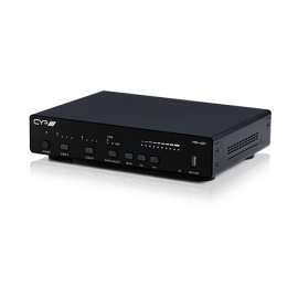 CYP 4x2+1 HDMI Input & HDBaseT/HDMI Output Matrix and Amplifier with AVLC, 4KHDR