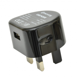 Mercury 421.742UK Compact USB Charger - 2100 mA Output