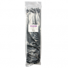 CTIE44360/BLK 4.4mm x 360mm Plastic Cable Ties, Black (pack of 100)