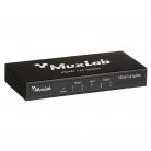 MuxLab 500421 HDMI 1×4 Splitter, UHD-4K