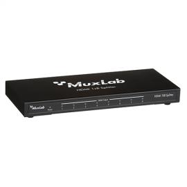 MuxLab 500422 HDMI 1x8 Splitter, UHD 4K