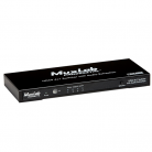 MuxLab 500430 HDMI 4X1 Switcher with Audio Extraction, UHD-4K