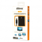Techlink 526420 iWires Mini DisplayPort Plug to DVI Socket - 0.2m