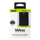 Techlink 526421 iWires Mini DisplayPort Plug to VGA Adapter - 0.2m