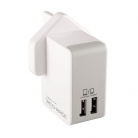 Techlink 527019 Recharge Dual USB Wall Charger