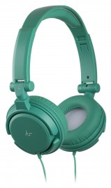 KitSound iD Audio On-Ear Headphones with In-Line Mic - Green