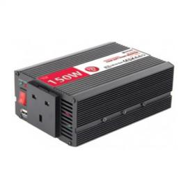 Mercury 651.660UK DC To AC Power Inverter, 12Vdc, 150W - Soft Start
