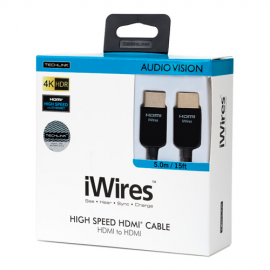 Techlink iWires HDMI 4K HDR 18Gbps - 1m (1m - 15m lengths available)