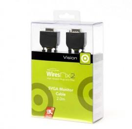 Techlink 710282 WiresNX2 SVGA Plug to SVGA Plug - 2m