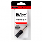 Techlink 710921 iWires 6.35mm to 3.5mm Stereo Adaptor