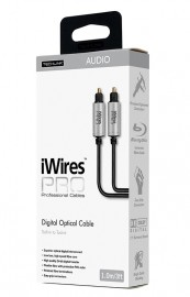 Techlink iWires PRO Digital Optical Audio Cable (1-5m Lengths Available)
