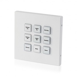 9 Button Wall Mount Keypad UK Single Gang