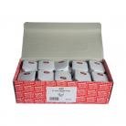Red/Grey 13Amp White Fused Plug