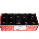 Red/Grey 13Amp Black Fused Plug