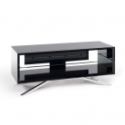 Techlink Arena AV Unit for Screens up to 55 - Black/Chrome