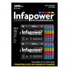 Infapower B006 2 Size D 2500mAh Rechargeable Batteries