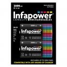 Infapower B006 2 Size D 2500mAh Rechargeable Batteries