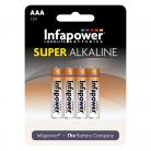 Infapower B701 4 x AAA Super Alkaline Batteries