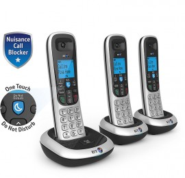 BT2200TRIO Cordless DECT Phone with Nuisance Call Blocker