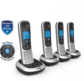 BT2700QUAD Cordless DECT Phone & Ans Machine with Nuisance Call Blocker