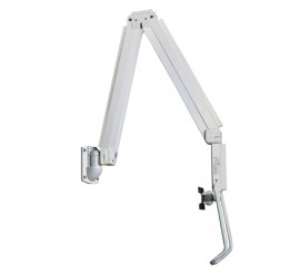 B-Tech BT7592/W Full Motion Articulating Wall Arm Medical Mount for Screens from 3 to 5kg - White