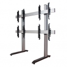B-Tech System X Universal Video Wall Stand for 2x2 Video Walls, Screens 46 - 60