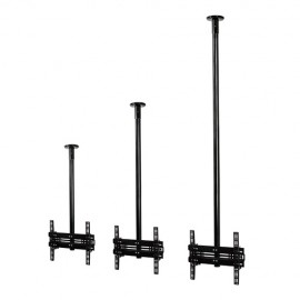 B-Tech BT5824 Universal Flat Screen Ceiling Mount with Tilt - 1m
