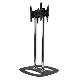 B-Tech BT8552-150 Medium / Large Flat Screen Back-to-Back Display Stand - 1.5m