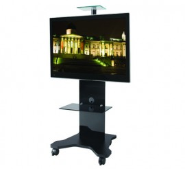 """B-Tech BTF820 CANTABRIA TV/VC Stand / Trolley for Screens up to 50"""""""