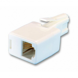 Kauden UK plug to RJ11 socket