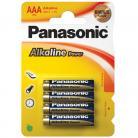 Panasonic AAA (LR03) Size - Alkaline Bronze Range - 4 Pack