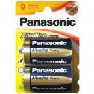 Panasonic D (LR20) Size - Alkaline Bronze Range - 2 Pack
