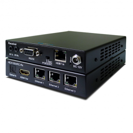 Blustream HEX100ARC-KIT HDBaseT 100m, 2 Way IR, PoE, Optical, ARC, RS-232 & 3 x LAN