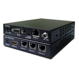 Blustream HEX100ARC-KIT HDBaseT 100m, 2 Way IR, PoE, Optical, ARC, RS-232 & 3 x LAN