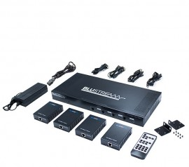 Blustream C44-KIT Contractor 4x4 HDBaseT™ Matrix Kit