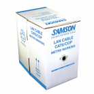 Samson CAT6 Pure Copper LSZH Network Cable Blue - 305m