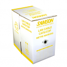 Samson CAT6 Pure Copper LSZH Network Cable Yellow - 305m